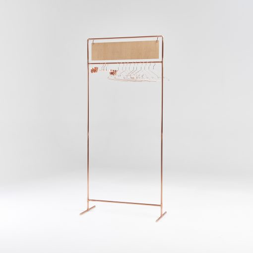 Copper clothing rail CR-08